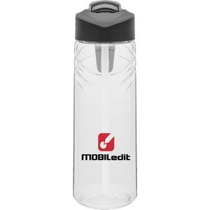 25oz H2go Sport Bottle (Clear)