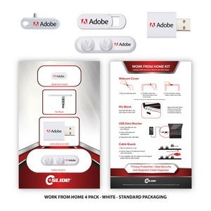 Work From Home 4 Pack with Standard Packaging